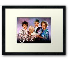 The Golden Girls TV Show Title Framed Print