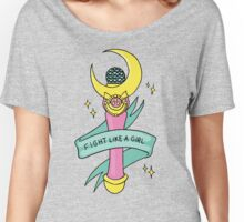 Fight Like A Girl! Women's Relaxed Fit T-Shirt