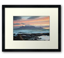 Table Mountain Framed Print