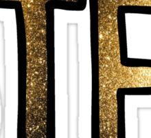 BTFU Glitter Sticker