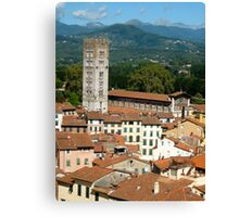 Tuscan Rooftops - Lucca, Toscana Canvas Print
