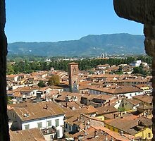 Tuscan Rooftops - Lucca, Toscana v.2 by Lorna81