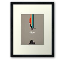 Dive Into My Soul Framed Print
