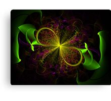 Ribbon Bloom Canvas Print