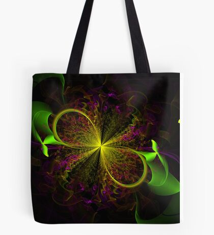 Ribbon Bloom Tote Bag