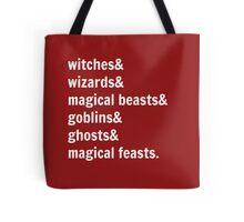 Gotta Get Back to Hogwarts! Tote Bag