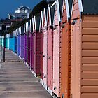 Summer Huts by Alf Myers