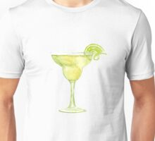 Margarita Watercolour Cocktail Unisex T-Shirt
