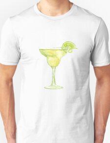 Margarita Watercolour Cocktail T-Shirt