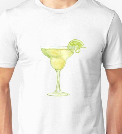 Margarita Watercolour Cocktail Unisex T-Shirt
