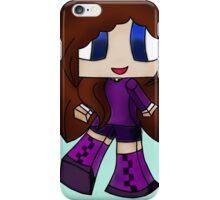 Cute Gamer Big Boots Girl iPhone Case/Skin