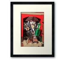 Drink anyone? We've got rum or rum Framed Print