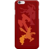 Torchic Evolutionary Chain  iPhone Case/Skin