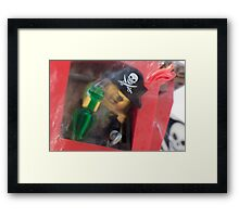 It's a pirate's life for... BLARGH Framed Print