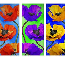 Poppy Parade (only Card) by Kim Bender