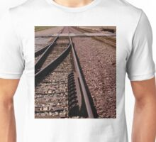 Trains - Converging Tracks Or Making Choices Unisex T-Shirt
