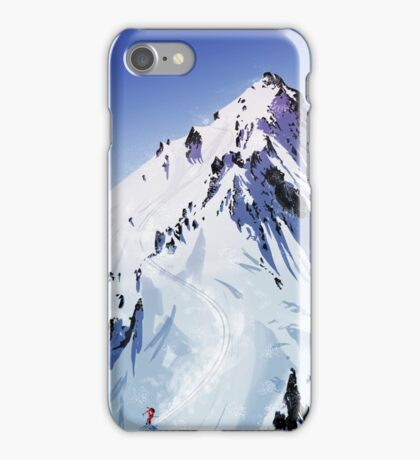 The descent  iPhone Case/Skin