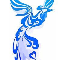 Blue Phoenix by Wolfighter12