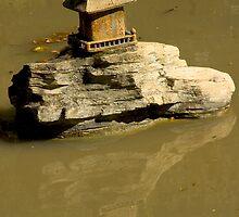 Japanese Shrine - Huntington Gardens, CA - 2011 by dirtfaery