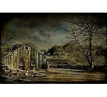 Village Barn Photographic Print