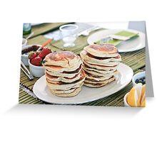 Mmmmm Pancakes  Greeting Card