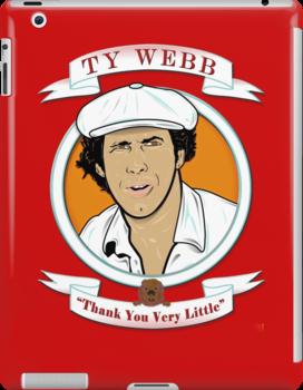 Caddyshack - Ty Webb by Michael Donnellan