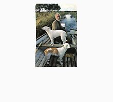 Beard Man Dogs Boat Unisex T-Shirt
