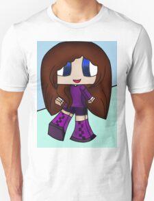 Cute Gamer Big Boots Girl Unisex T-Shirt