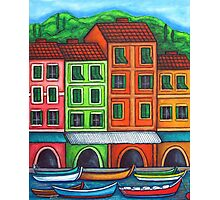 Colours of Liguria Photographic Print