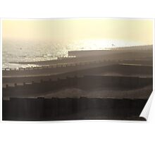 Seafront Sunset Poster