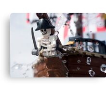 Part of the ship, part of the crew Canvas Print