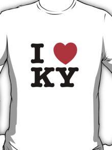 I Love KY (black) T-Shirt