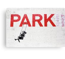 "Banksy ""Park"" Canvas Print"