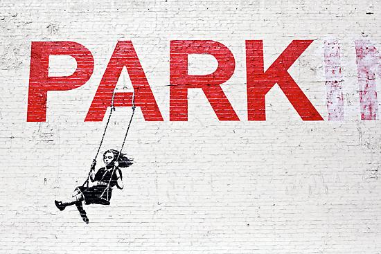 "Banksy ""Park"" by Reuben Reynoso"