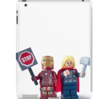 Stop... Hammer time iPad Case/Skin