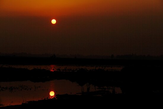 SUNSET_ Digombar Bazar -1 by HamimCHOWDHURY