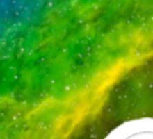 Galaxy Animal Crossing Leaf Sticker
