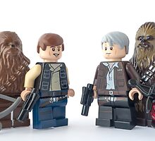 Well Chewie, it looks like the last 38 year have been kinder to you by Tom Milton