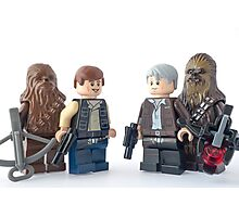 Well Chewie, it looks like the last 38 year have been kinder to you Photographic Print