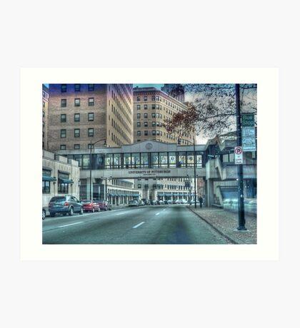 University of Pittsburgh Art Print