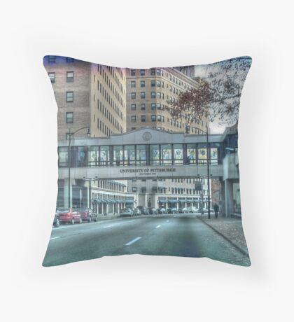 University of Pittsburgh Throw Pillow