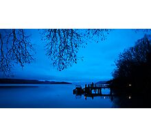 Photographers at Dawn, Kinloch NZ Photographic Print