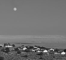 moonrise- Utah by David Chesluk
