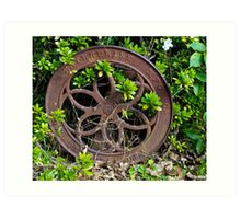 The Wheels of Time Art Print