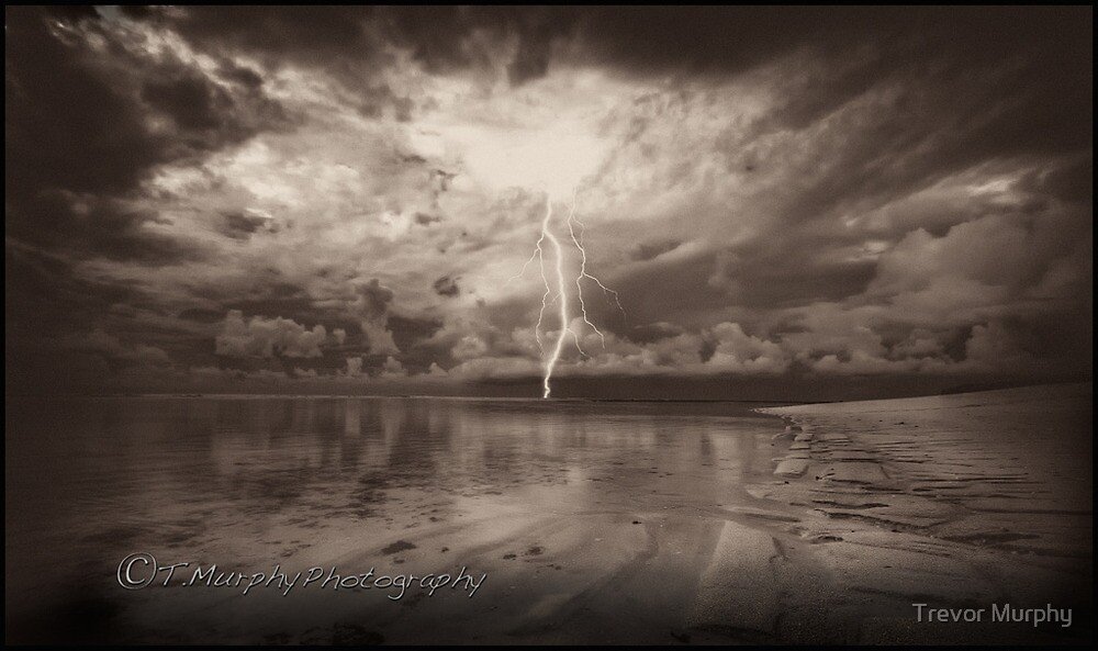 Bali light show by Trevor Murphy