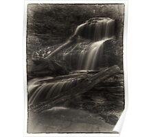 Shawnee Falls (faux vintage) Poster