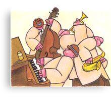 Musicians 1 Canvas Print