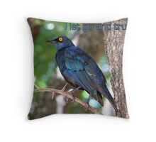 I let go and trust. Throw Pillow
