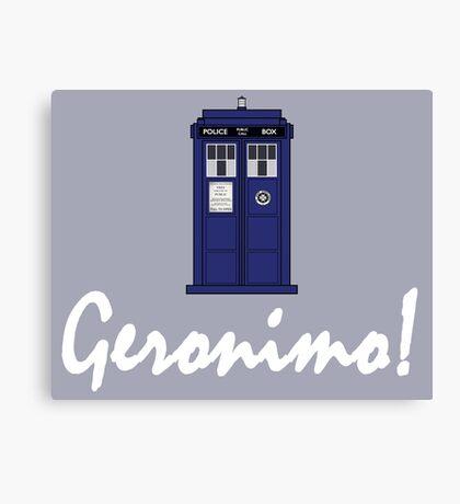 """Geronimo!"" Canvas Print"