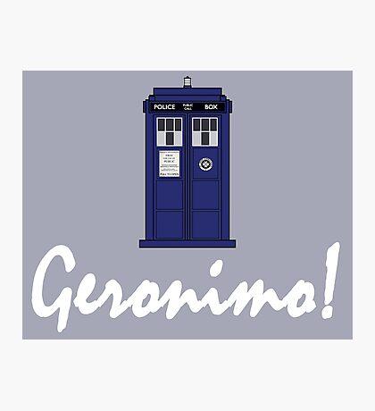 """Geronimo!"" Photographic Print"